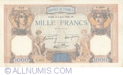 Image #1 of 1000 Francs 1940 (11. IV.)