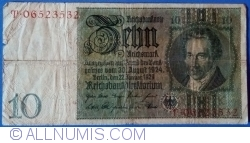 Image #1 of 10 Reichsmark 1929 (22. I.) - Q