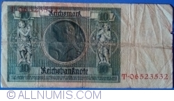 Image #2 of 10 Reichsmark 1929 (22. I.) - Q