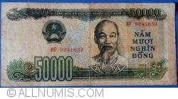 Imaginea #1 a 50 000 Dong 1990 (1993)