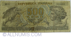 Image #1 of 500 Lire 1970 (23. II.)