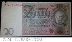Image #1 of 20 Reichsmark 1929 (22. I.) - D