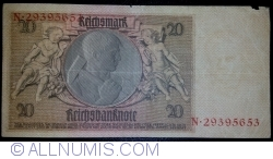 Image #2 of 20 Reichsmark 1929 (22. I.) - D