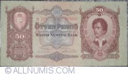 50 Pengő 1932 (2. X.)