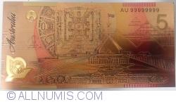 5 Dollars 2007-2008