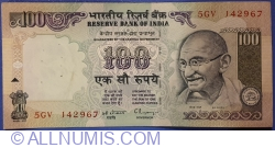 Image #1 of 100 Rupees ND (1996) - signature C. Rangarajan