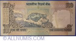 Image #2 of 100 Rupees ND (1996) - signature C. Rangarajan