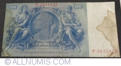 Image #2 of 100 Reichsmark 1935 (24.VI) - B