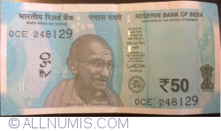 Image #1 of 50 Rupees 2017 - R