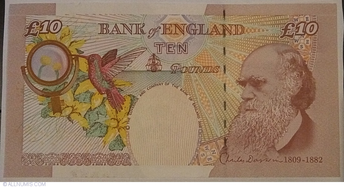 GREAT BRITAIN £10 Pounds Cleland UK Bank of England UNC PAPER Banknote
