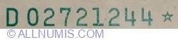 10 Dolari 1988A - star note (bancnotă de înlocuire)
