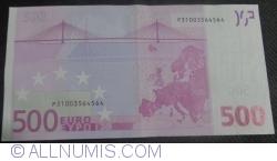 Image #2 of 500 Euro 2002 - P (Netherlands)