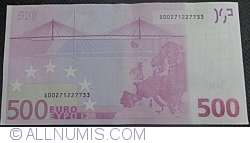 Image #2 of 500 Euro 2002 - S (Italy)