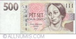 Imaginea #1 a 500 Korun 1997