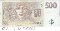 Imaginea #2 a 500 Korun 1997