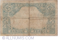 Image #2 of 5 Francs 1915 (27. III.)