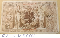 Image #2 of 1000 Mark 1910 (21. IV.) - N