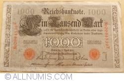 Image #1 of 1000 Mark 1910 (21. IV.) - J