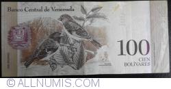 Imaginea #2 a 100 Bolivares 2012 (27. XII.)