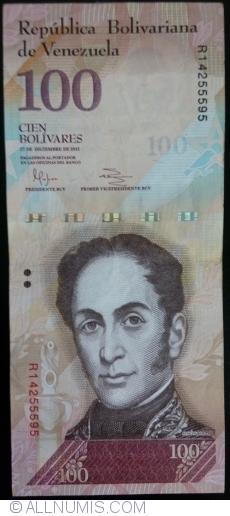 Imaginea #1 a 100 Bolivares 2012 (27. XII.)