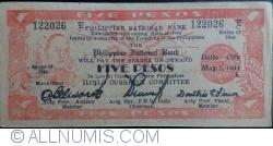 Imaginea #1 a 5 Pesos 1944 (1. V.)