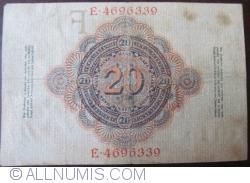 Image #2 of 20 Mark 1910 (21. IV.) - F