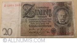 Image #1 of 20 Reichsmark 1929 (22. I.) - C