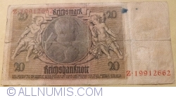 Image #2 of 20 Reichsmark 1929 (22. I.) - C