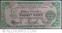 Imaginea #1 a 20 Pesos 1942