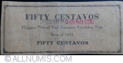 50 Centavos 1942