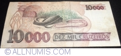 10000 Cruzeiros ND(1992) - signatures Marcilio Marques Moreira/ Francisco Roberto André Gros