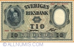 Image #1 of 10 Kronor 1947