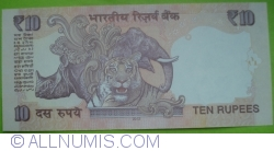 Image #2 of 10 Rupees 2012 - L