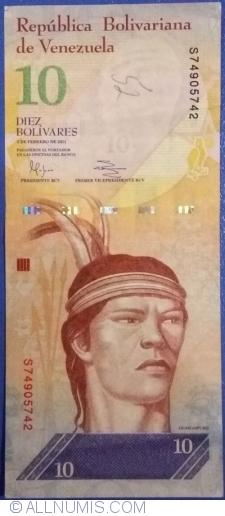 Imaginea #1 a 10 Bolivares 2011 (3. II.)