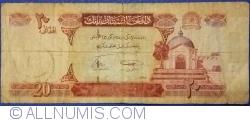 Image #1 of 20 Afghanis 2008 (SH 1387 - ١٣٨٧)