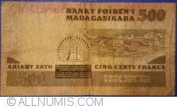 500 Franci = 100 Ariary ND (1983-1987)