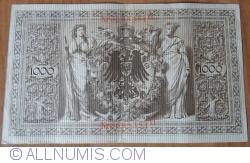 Image #2 of 1000 Mark 1910 (21. IV.) - O