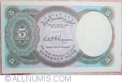 5 Piastres L.1940(2002) - 6 digit serial