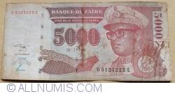 Image #1 of 5000 Nouveaux Zaires 1995 (30. I.)