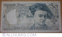 Imaginea #1 a 50 Franci 1990