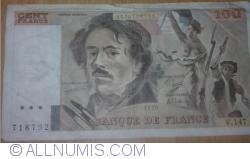 Image #2 of 100 Francs 1989
