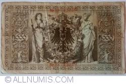 Image #2 of 1000 Mark 1910 (21. IV.) - M