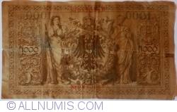 Image #2 of 1000 Mark 1910 (21. IV.) - C