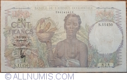 Image #1 of 100 Francs 1951 (8. III.)