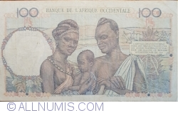 Image #2 of 100 Francs 1951 (8. III.)
