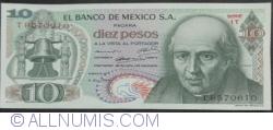 Image #1 of 10 Pesos 1969 (3. XII.)