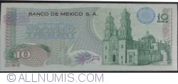 Image #2 of 10 Pesos 1969 (3. XII.)