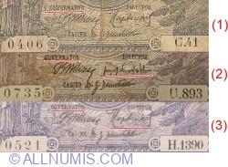 2 Lei 1915 (3. III.) (1) - title signature V. GUVERNATOR - 2 digit serial