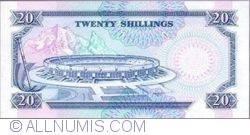 Image #2 of 20 Shillings 1992 (2. I.)