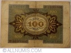 Imaginea #2 a 100 Mark 1920 (1. XI.) - M